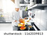 cooking food  profession and... | Shutterstock . vector #1162039813