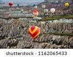 turkey  cappadocia  ballooning | Shutterstock . vector #1162065433