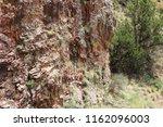 rock wall texture | Shutterstock . vector #1162096003
