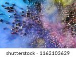 aerial. music concert and crowd ... | Shutterstock . vector #1162103629