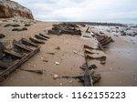 Rusting Shipwreck At Hunstanto...