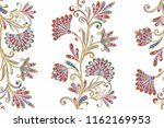 seamless pattern in ethnic... | Shutterstock .eps vector #1162169953