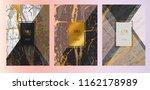 luxury premium menu design... | Shutterstock .eps vector #1162178989
