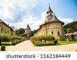 white building monastery in... | Shutterstock . vector #1162184449