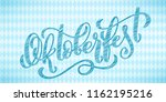 oktoberfest celebration... | Shutterstock .eps vector #1162195216