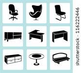 interior design  interior... | Shutterstock .eps vector #116222446