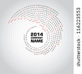 Swirl Calendar 2014