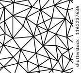 polygon abstract polygonal... | Shutterstock .eps vector #1162237636