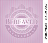 bereaved badge with pink... | Shutterstock .eps vector #1162259059