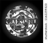 garment on grey camouflage... | Shutterstock .eps vector #1162259323