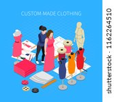 Custom Made Clothing Isometric...