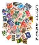Collection Of Old Postage...