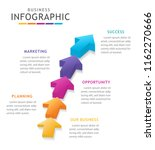 infographic template for...   Shutterstock .eps vector #1162270666