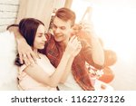 beautiful couple together on...   Shutterstock . vector #1162273126