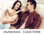 beautiful couple together on...   Shutterstock . vector #1162273306