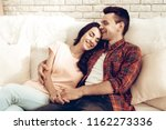 beautiful couple together on...   Shutterstock . vector #1162273336