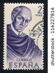 spain   circa 1970  stamp... | Shutterstock . vector #116227816