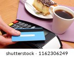 use payment terminal with... | Shutterstock . vector #1162306249