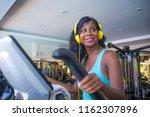 indoors gym portrait of young... | Shutterstock . vector #1162307896