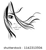 vector  stylish  original hand... | Shutterstock .eps vector #1162313506