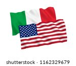 national fabric flags of italy...   Shutterstock . vector #1162329679