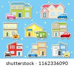 collar stickers of solitary... | Shutterstock .eps vector #1162336090