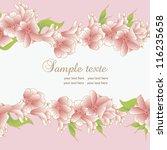 background for wedding... | Shutterstock .eps vector #116235658