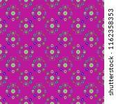 ferris wheel color seamless...   Shutterstock . vector #1162358353