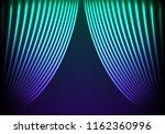 drapery futuristic background...   Shutterstock . vector #1162360996