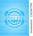 athlete water wave style emblem.   Shutterstock .eps vector #1162367596