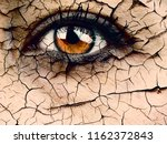 woman eye close up dramatic... | Shutterstock . vector #1162372843