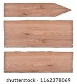 empty nature wooden signs   Shutterstock . vector #1162378069