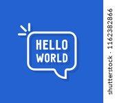 Hello World Text In Speech...