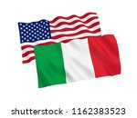 national fabric flags of italy...   Shutterstock . vector #1162383523