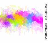 multicolored splash   colorful... | Shutterstock . vector #1162383559
