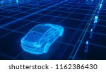 autonomous self driving...   Shutterstock . vector #1162386430