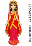 asian beauty. animation... | Shutterstock .eps vector #1162393279