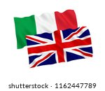 national fabric flags of italy...   Shutterstock . vector #1162447789