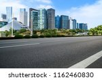 urban road asphalt pavement and ... | Shutterstock . vector #1162460830