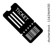 flat ticket icon. black... | Shutterstock .eps vector #1162464430