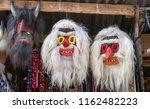 mask souvenirs at bran castle ... | Shutterstock . vector #1162482223