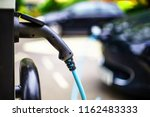 electric car photo in uk with... | Shutterstock . vector #1162483333