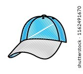 doodle cap casual textile style ... | Shutterstock .eps vector #1162491670