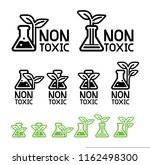green care and non toxic from... | Shutterstock .eps vector #1162498300