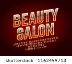 vector chic logo with text... | Shutterstock .eps vector #1162499713