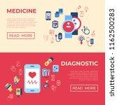 digital vector health sensor... | Shutterstock .eps vector #1162500283