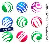 vector design element  colorful ... | Shutterstock .eps vector #1162507006