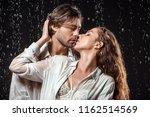 portrait of seductive couple... | Shutterstock . vector #1162514569