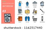 filled outline style icon pack... | Shutterstock .eps vector #1162517440
