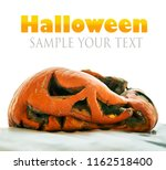 Rotten Pumpkin Jack Lantern For ...